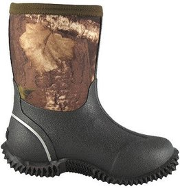 Smoky Mt Youth Camo Amphibian Rubber Boot