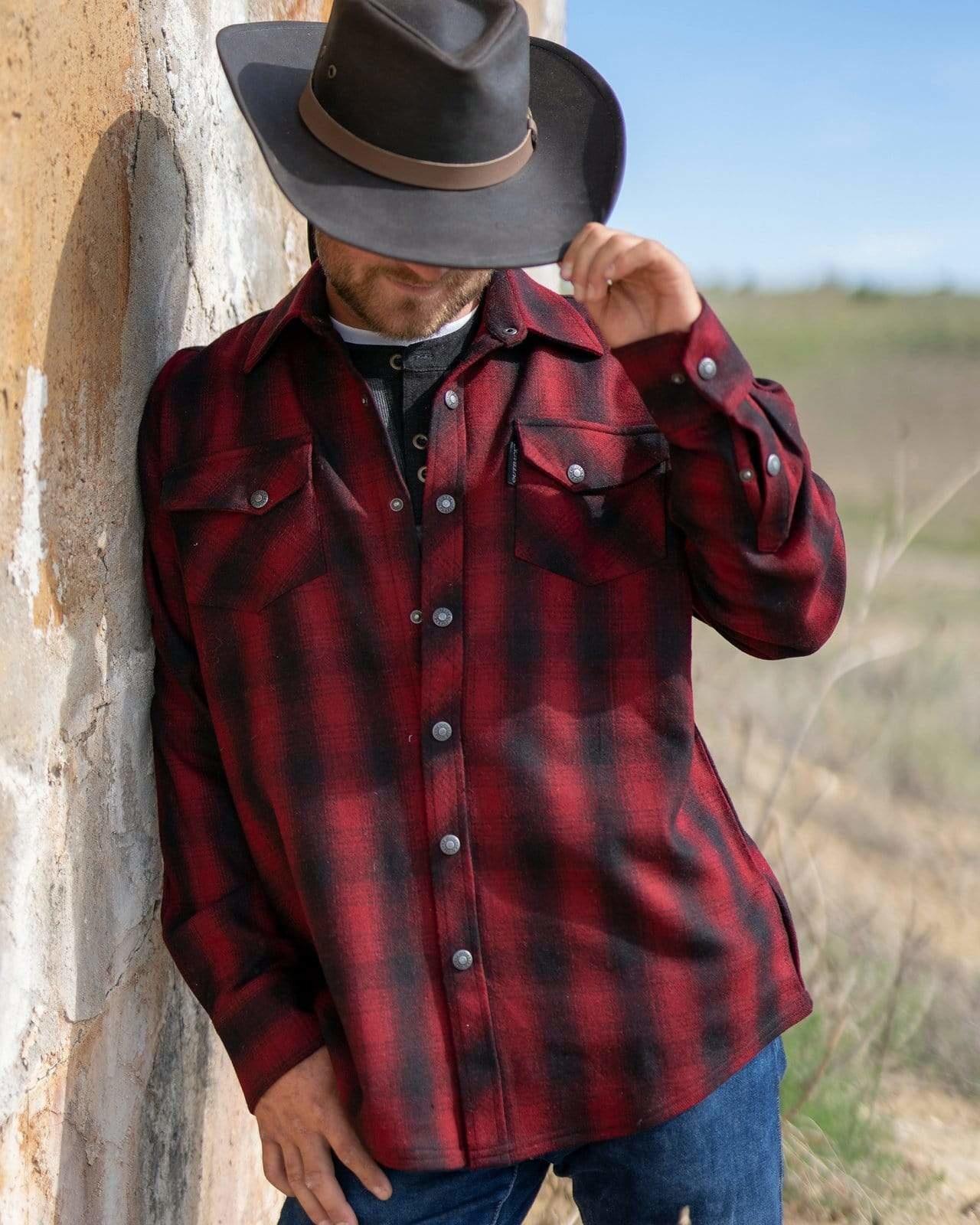 Outback Men's Outback Mount Elk Big Shirt