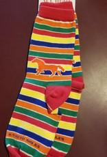 Children's Stripe Horse Socks