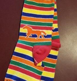 GT Reid Children's Stripe Horse Socks
