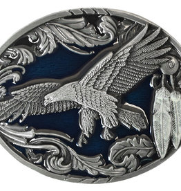 WEX Belt Buckle - Flying Eagle