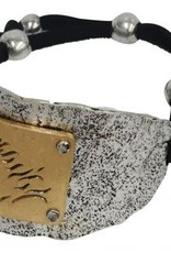Bracelet - Silver OX with Gold Horse Engraved
