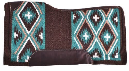 "Showman Showman Memory Felt Bottom Saddle Pad, 34"" X 36"""