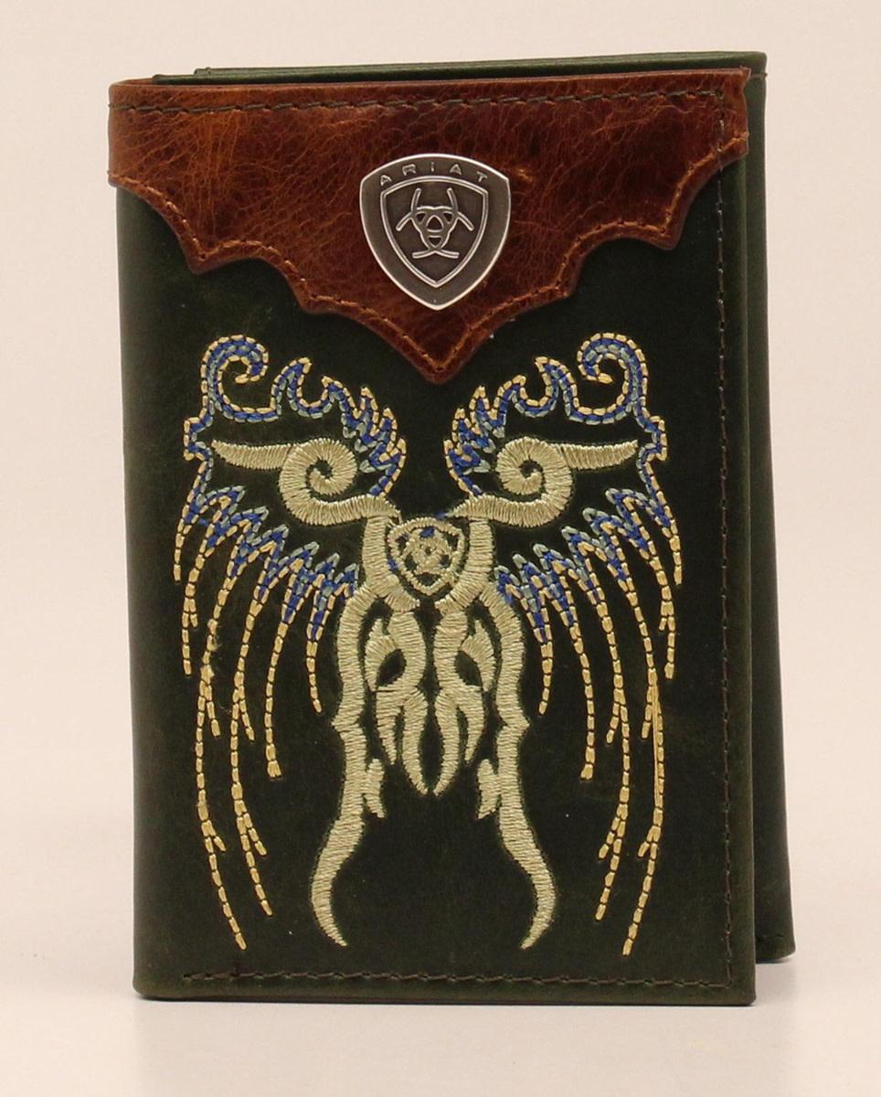 Ariat Men's Trifold Wallet