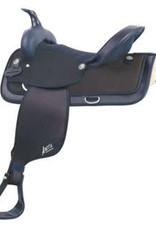 Abetta Abetta® Cordura Hi-Back Saddle, Black, Reg Bars 16