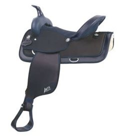 Abetta Abetta® Cordura Hi-Back Saddle, Black, Reg Bars 16