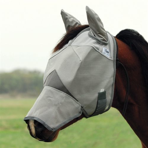 Cashel Crusader Fly Mask Long w/Ears