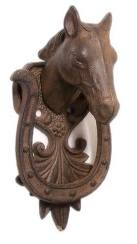 Lamprey Cast Iron Horse Head Door Knocker