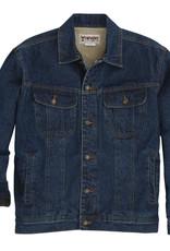 Wrangler Men's Wrangler Rugged Wear Sherpa Lined Denim Jacket