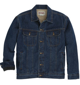 Wrangler Men's Wrangler Rugged Wear Sherpa Lined Denim Jacket