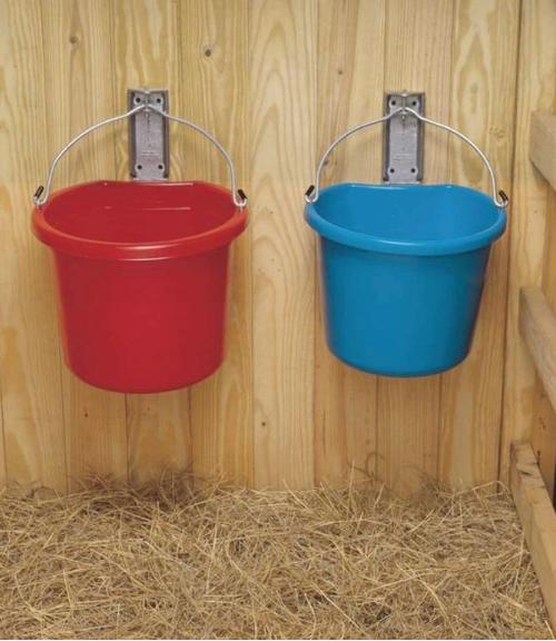Fortex Industries Aluminum Wall Bracket for Buckets