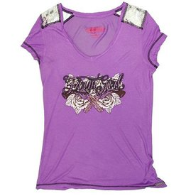 Farm Girl Farm Girl w/Roses & Pistols T-Shirt