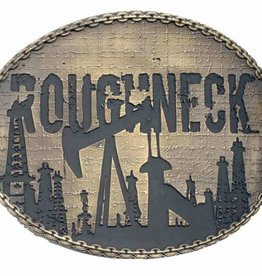 Western Fashion Accessories Belt Buckle - Roughneck!