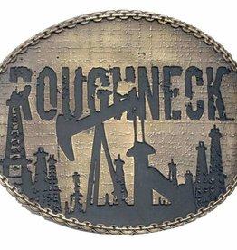Western Fashion Accessories Belt Buckle - Roughneck!