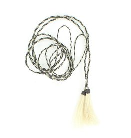 M & F Western Products Natural Horsehair Braided Stampede String