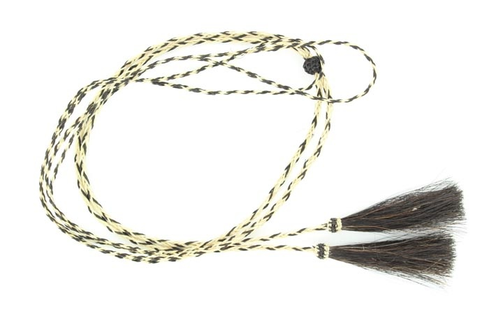 Natural Horsehair Braided Stampede String