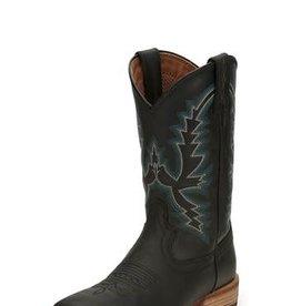 Justin Western Men's Justin Tallyman Black Western Boots