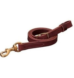 Weaver Tie Down Strap with Snap Leather Horse Medium