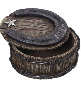 Tough-1 Trinket Box - Horseshoe