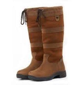 Weatherbeeta Women's Dublin River Waterproof Boots II, Brown - 6.5M (Reg $199.95 now $75 OFF!)