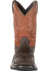 Rocky Youth Rocky Big Kids' Ride FLX Western Boot - Orange Brown