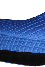 PRI PRI Quilted Double Back Western Saddle Pad - Royal Blue