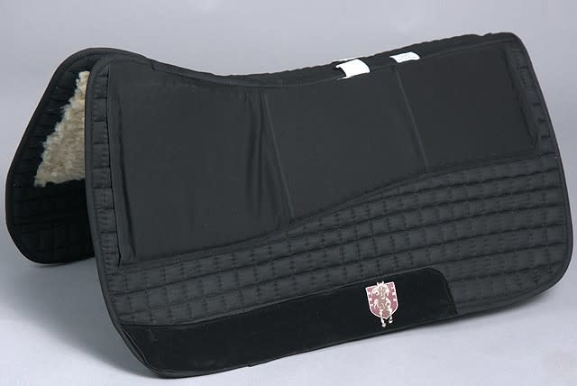 PRI PRI Nytro Gel Western Saddle Pad - Black