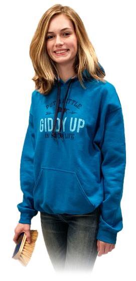 Stirrups Women's Stirrups Hoodie Sweatshirt - Giddy Up