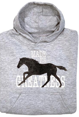"Stirrups Children's Stirrups Hoodie - ""Made for Greatness"""