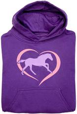 Stirrups Children's Stirrups Hoodie - Horse in Heart