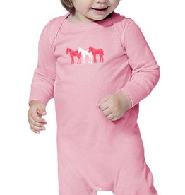 Stirrups Infant Stirrups Coverall - Three Ponies