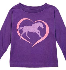 Stirrups Toddler's Stirrups Long Sleeve T-Shirt