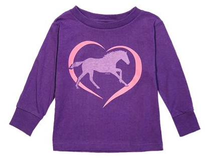 Stirrups Toddler's Stirrups Long Sleeve T-Shirt