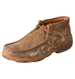 Twisted X Women's Chukka Driving Moc - Bomber
