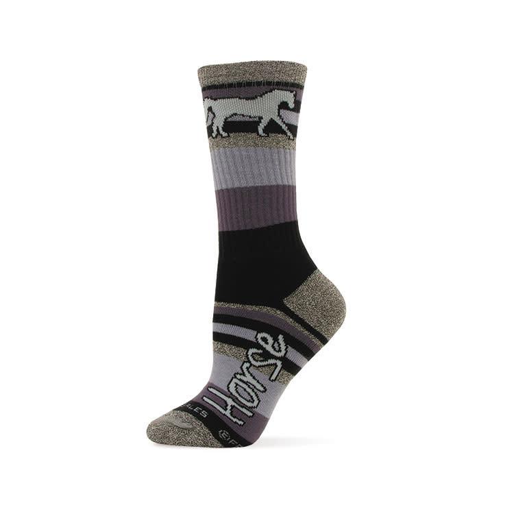 Adult Socks - Mountain Stripes