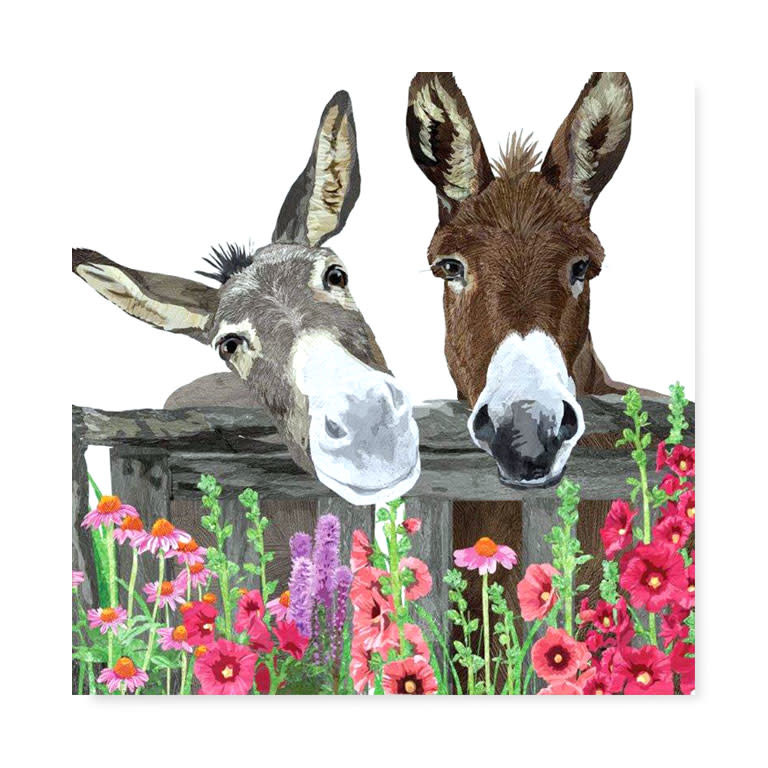 Lunch Napkin - Burro Friends