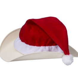 Tough-1 Santa Hat Cover for Western Hat