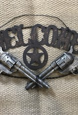 Tough-1 Pistols Welcome Sign