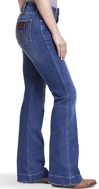 Wrangler Women's Wrangler Retro 5-Pocket Trouser Jeans