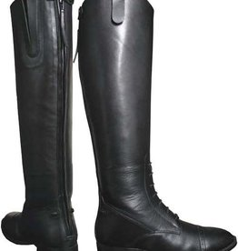Smoky Mt FINAL SALE - Women's Smoky Black Leather Field Boots (Reg $159.95 - 40% OFF)