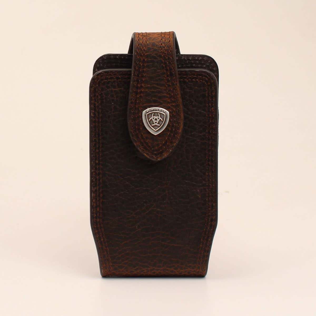 Cell Phone Case - Ariat Leather Medium Brown