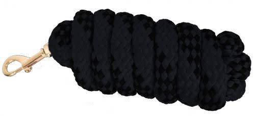 Showman Braided Softy Cotton Lead - 10' - Black