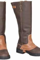 Tuffrider Women's TuffRider Windsor Waterproof Brown Oiled Boots (Reg Price $169.9 NOW ONLY $75) - Size 7