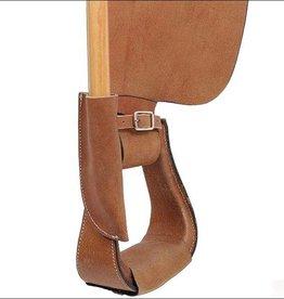 Billy Cook Saddlery Leather Flag Pole Holder/Carrier