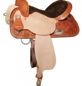 "Circle Y Circle Y High Horse - Proven Liberty Barrel Saddle Reg Oil 14"" - FQHB"