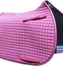 PRI Saddle Pad - PRI Cotton Quilted Dressage