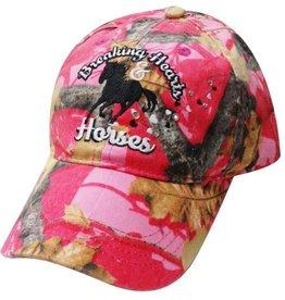 "Ball Cap - ""Breaking Hearts & Horses"""