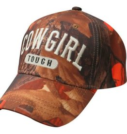 "Ball Cap - ""Cowgirl Tough"""
