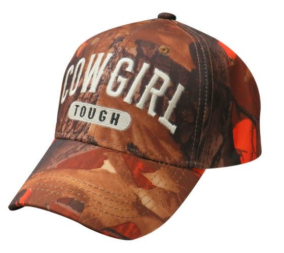 """Ball Cap - """"Cowgirl Tough"""""""