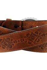 Justin Belts Adult - Navajo Heart Belt